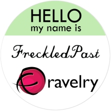 Hello, I'm FreckledPast on Ravelry